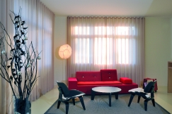Silent Gliss - Wave Curtain, Colorama Fabric